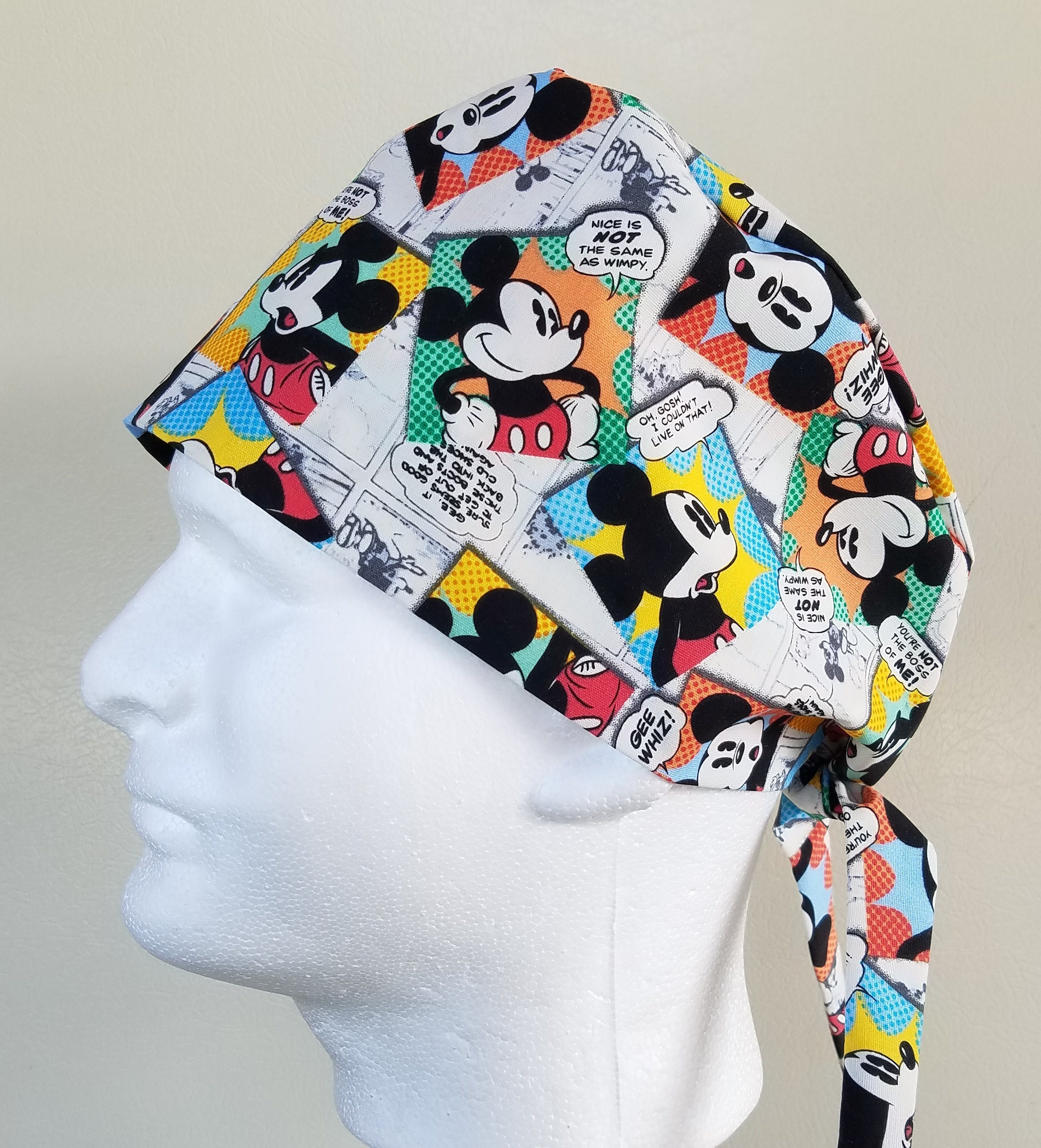 Mickey Mouse Scrub Cap