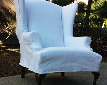 Custom slip cover tailored to fit your chair. Custom Made Slipcovers for  overstuffed 3d44fe82c