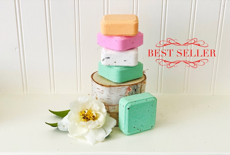 Aromatherapy Shower Bombs Natural Handmade Shower Steamers image 0