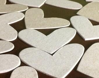 Medium Chipboard Hearts