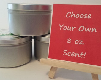Disney Scented - CANDLES WITH CHARACTER - Choose your own 8 oz. scent!   Soy Wax Candle   Hand Poured   Wedding Favors   Gift   Travel Tin