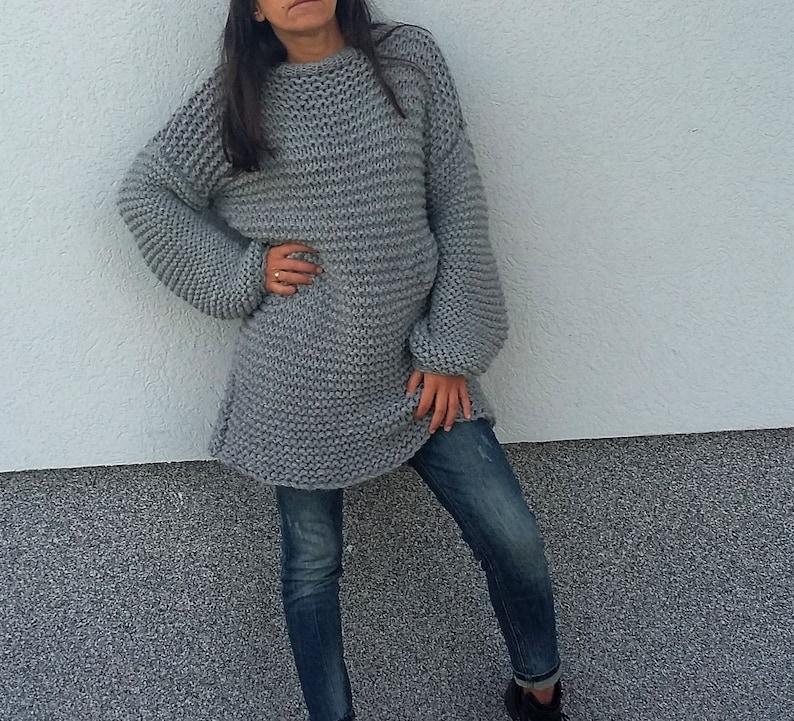 0e06828198 Chunky sweater dress Boxy sweater Oversized sweater Comfy