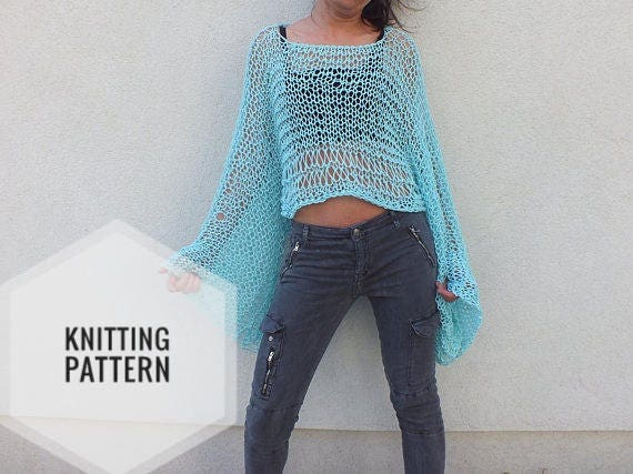 Sweater Pattern Shrug Pattern Beginner Patternairy Knitted