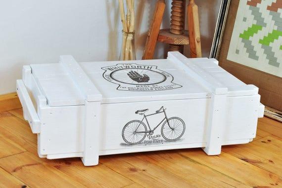niedriger couchtisch flacher sofatisch aufbewahrung mit etsy. Black Bedroom Furniture Sets. Home Design Ideas