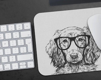 Dachshund Dog Puppy Animal Art Mouse Pad Mat Office Desk Table Accessory Gift