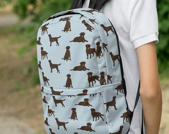 Vet Tech Property of Dogs Name Personalized Embroidered Backpack Pet Lover Animal Rescue