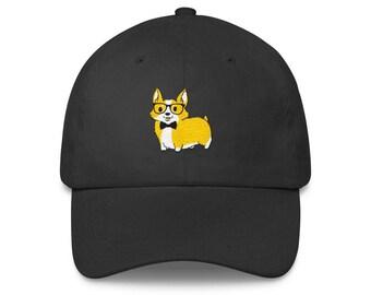 1ef1f49b4cc Corgeek Corgi Embroidered Baseball Hat