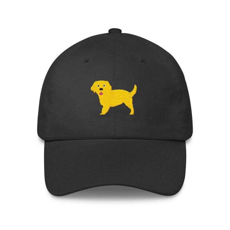 bbf5aab1b415c Golden Retriever Embroidered Baseball Hat Dog Lover Dad Hat