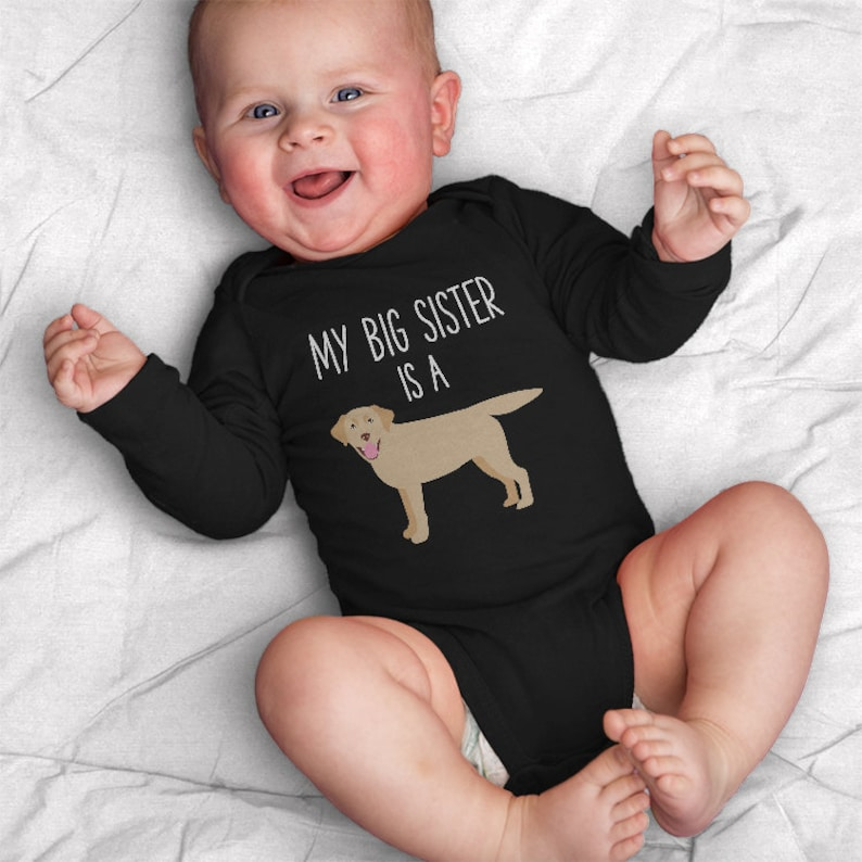 f52938260f5 My Big Brother   Sister is a Labrador Retriever Long Sleeve