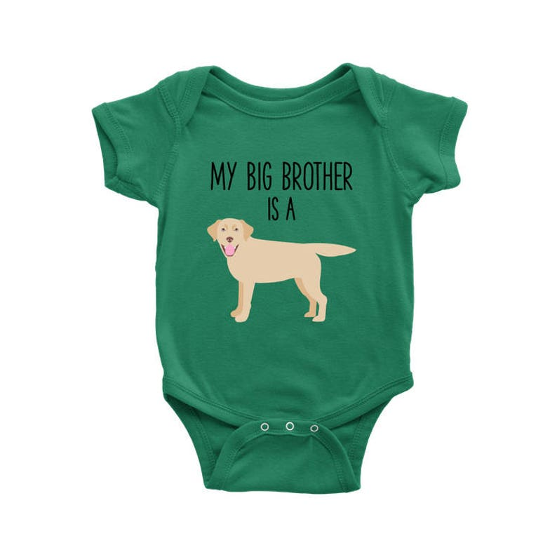 85b56553f8e My Big Brother   Sister is a Yellow Labrador Retriever Baby