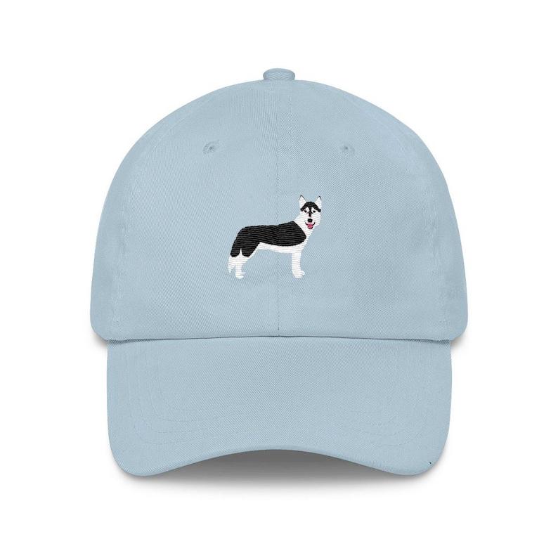 b840a49cf23 Siberian Husky Baseball Hat Funny Dog Lover Dad Hat Cool