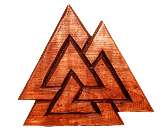 Valknut wall sign