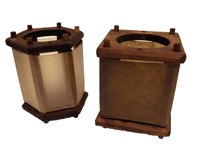 Small Wooden Medieval Lantern Witcher Netflix