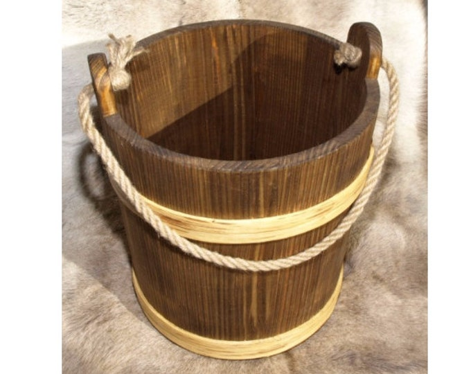 10 Litre Bucket With Rope Handle