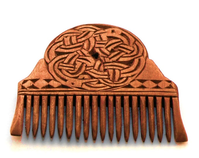 Viking Wooden Comb - St. Manchan's Shrine, Ireland