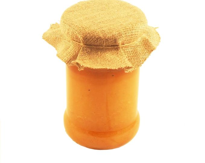Honey seasoned with vanilla