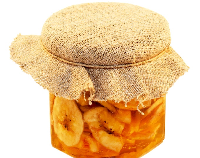 Honey Dipped Banana Slices