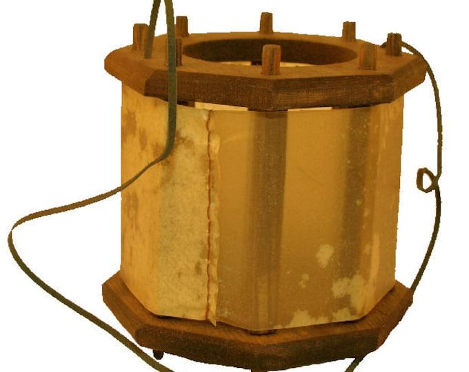 Wooden Medieval Lantern Witcher Netflix
