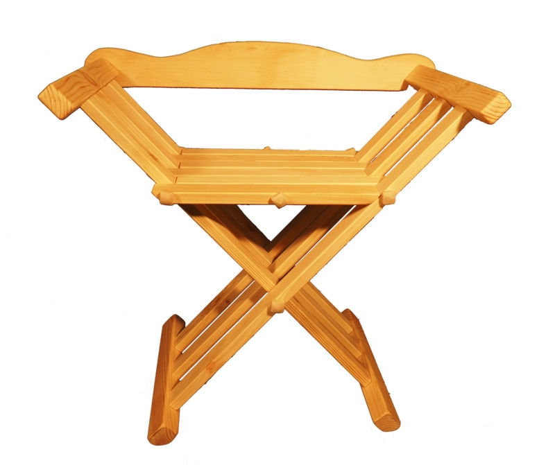 Sensational Wooden Medieval Viking Folding Chair With Back Support Gamerscity Chair Design For Home Gamerscityorg