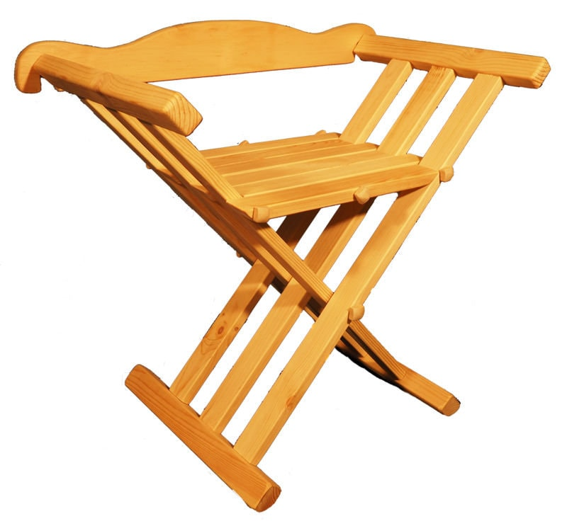 Fabulous Wooden Medieval Viking Folding Chair With Back Support Gamerscity Chair Design For Home Gamerscityorg