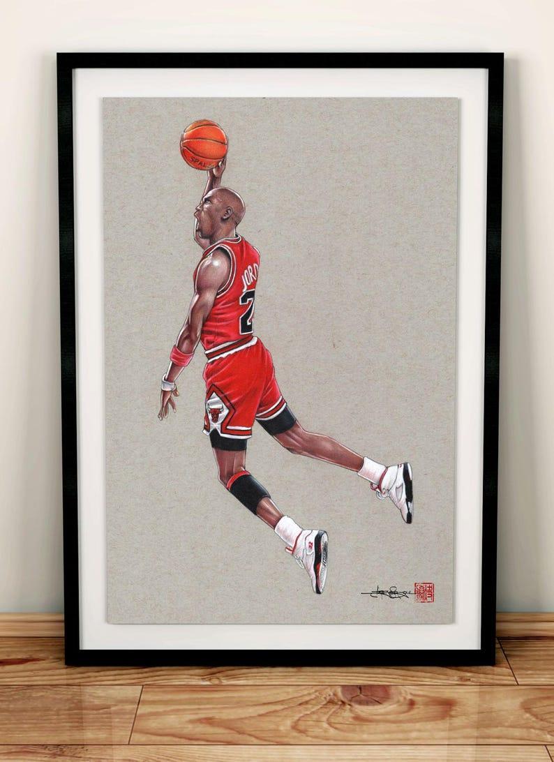 Michael Jordan Slam Dunk  9c830b5198