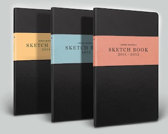 Sketch Book collection 2011-2014, by Jared Muralt