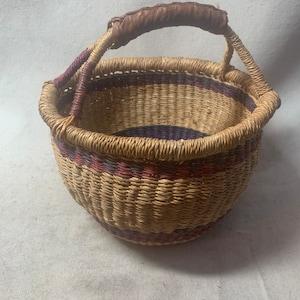 Lenox; Gilded Garden Handled Basket