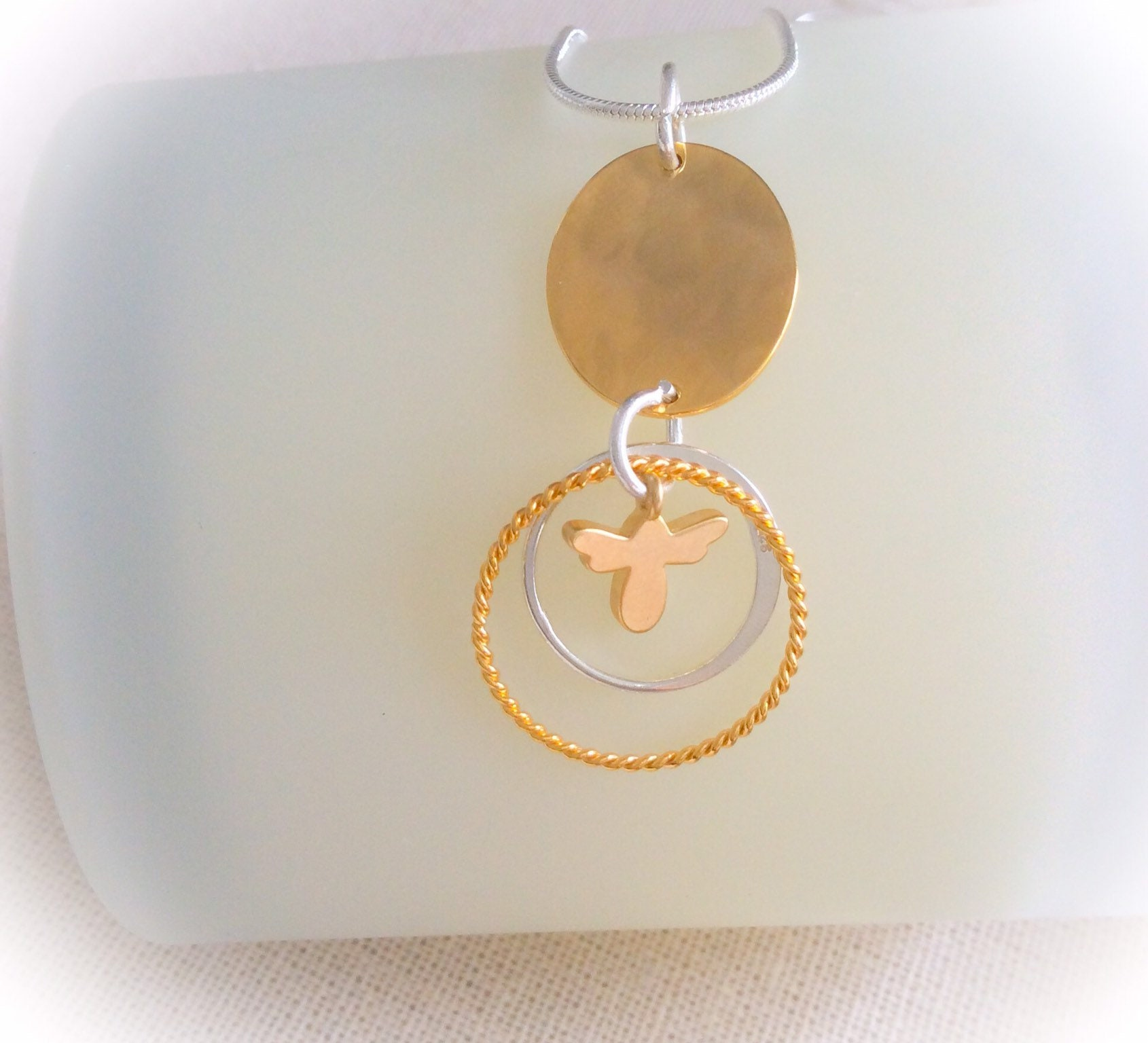 Bee Pendant Bumble Bee Mother S Day Gift Bridesmaid Gift 30th