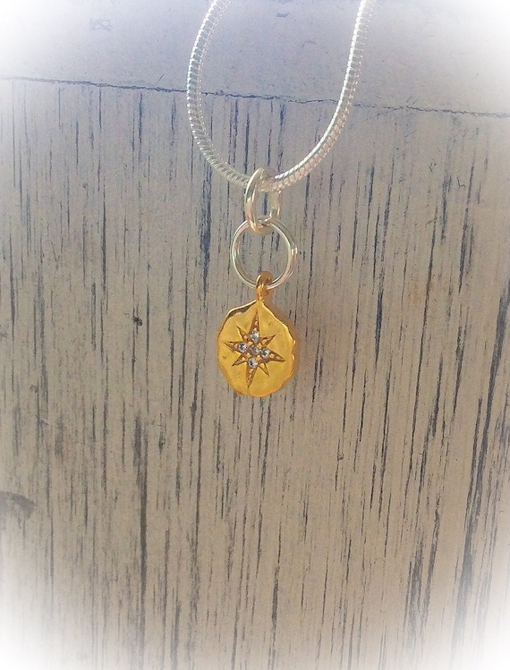 Gold star pendant, pendants for summer Star of David, star jewellery, birthday gifts for her, anniversary wife gift, silver necklace