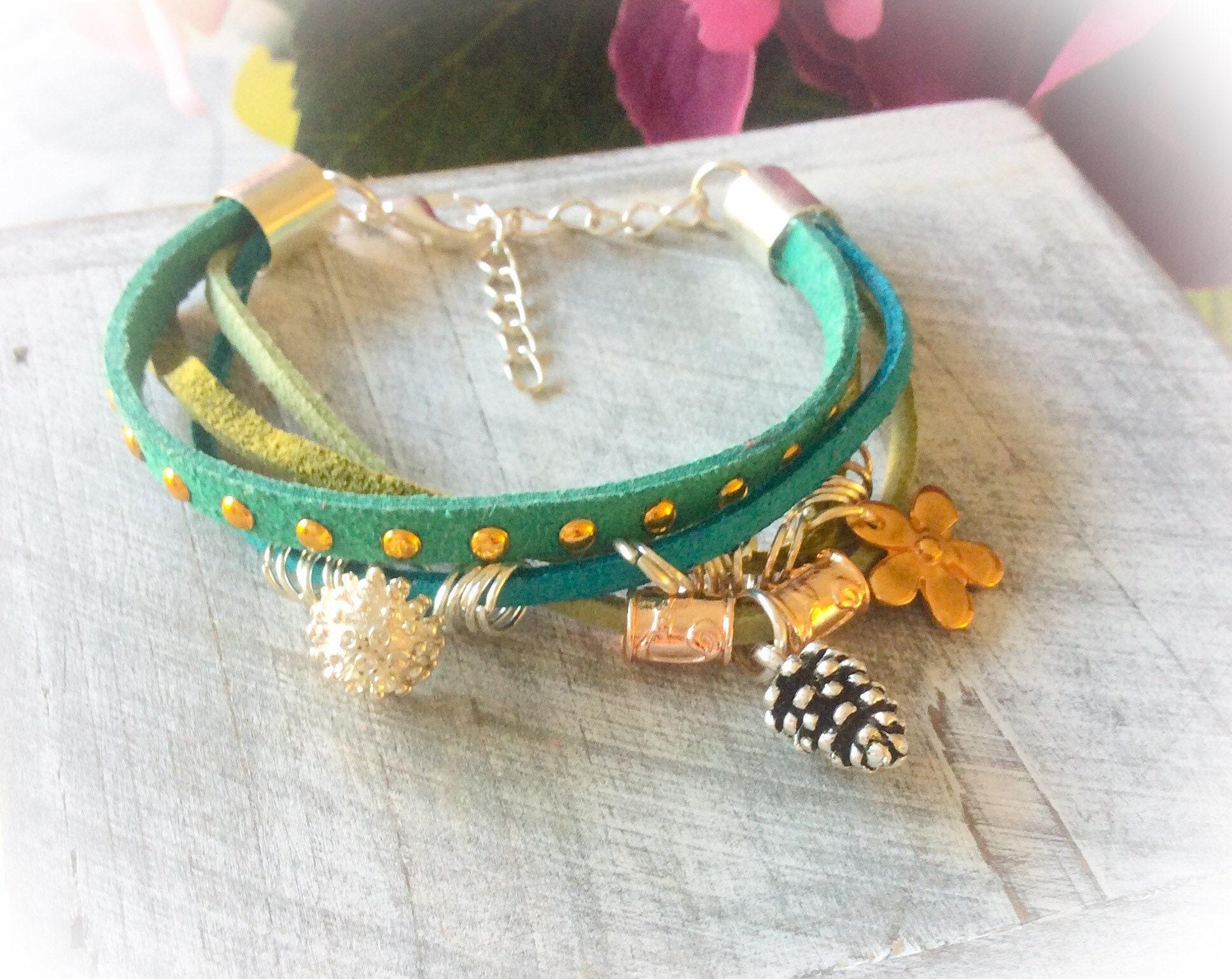 Charm Bracelet Boho Hippie Birthday Gifts For Girls
