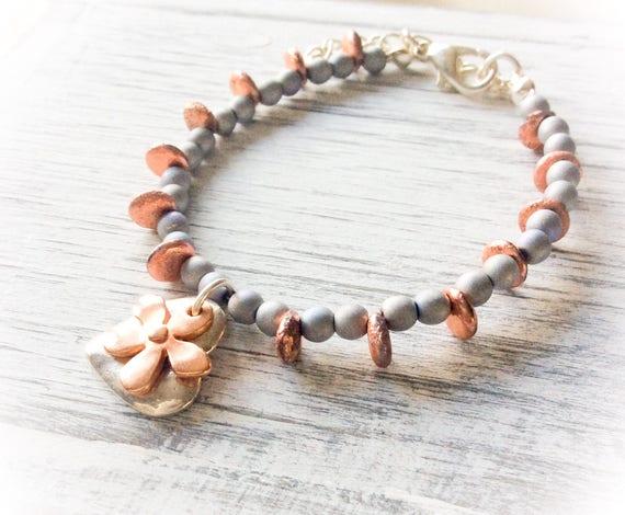 Bracelets for women, beaded bracelet for her, Bridesmaids bracelet, Everyday jewellery, stacking bracelets, delicate jewellery, handmade