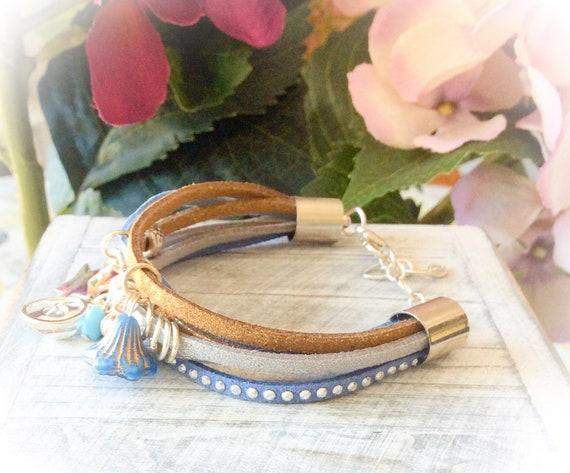 Summer bracelets for women, girl bracelet, bohemian bracelet, handmade gifts, jewellery for her, birthday bracelets, charm bracelets