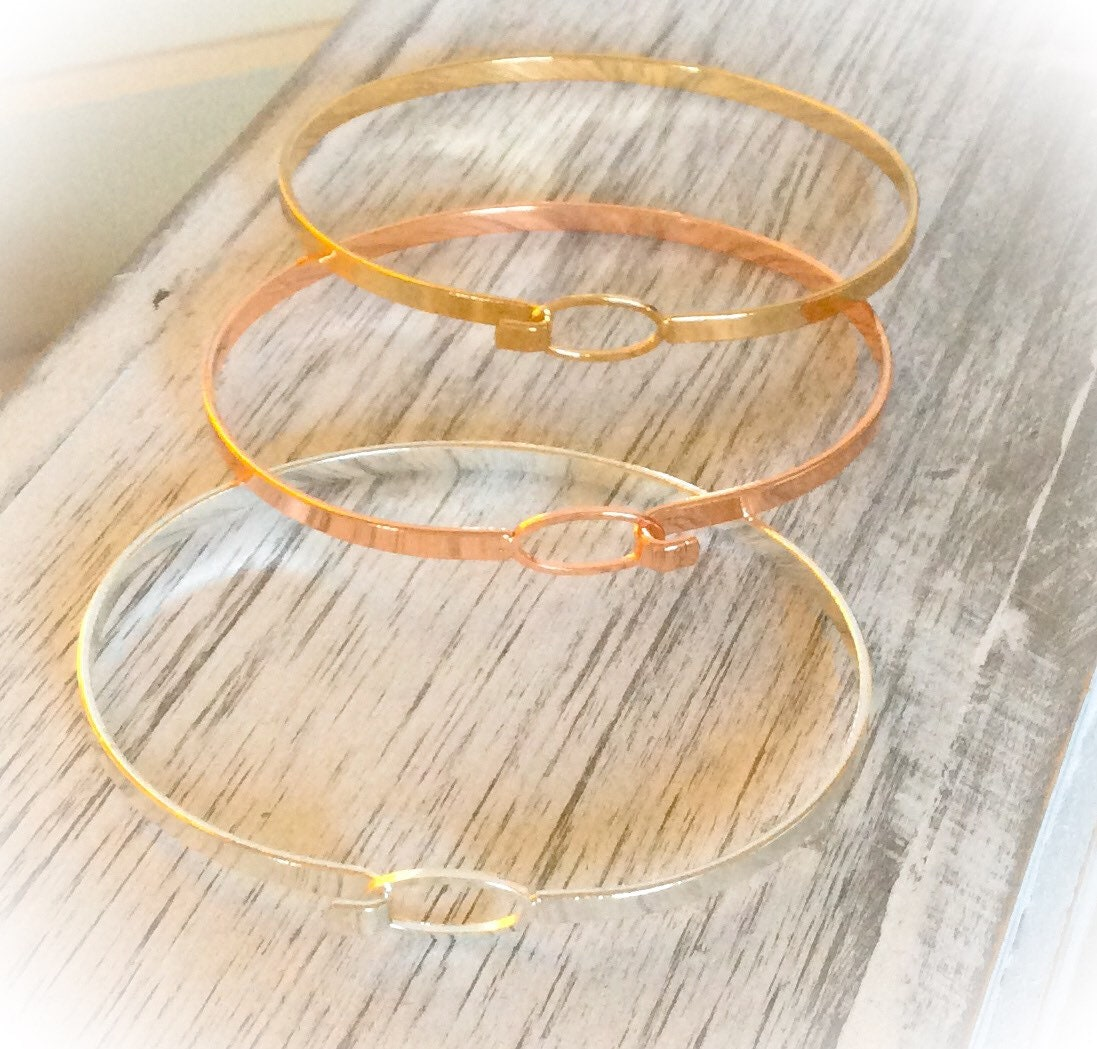 Skinny Bangles For Her Gift Gifts 40th Birthday 50th Best Friend Sister Jewelry 18th