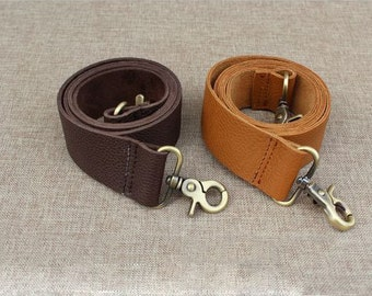 1 PCS 40cm / 15.7 inch Embossed Genuine Leather Straps for Purses