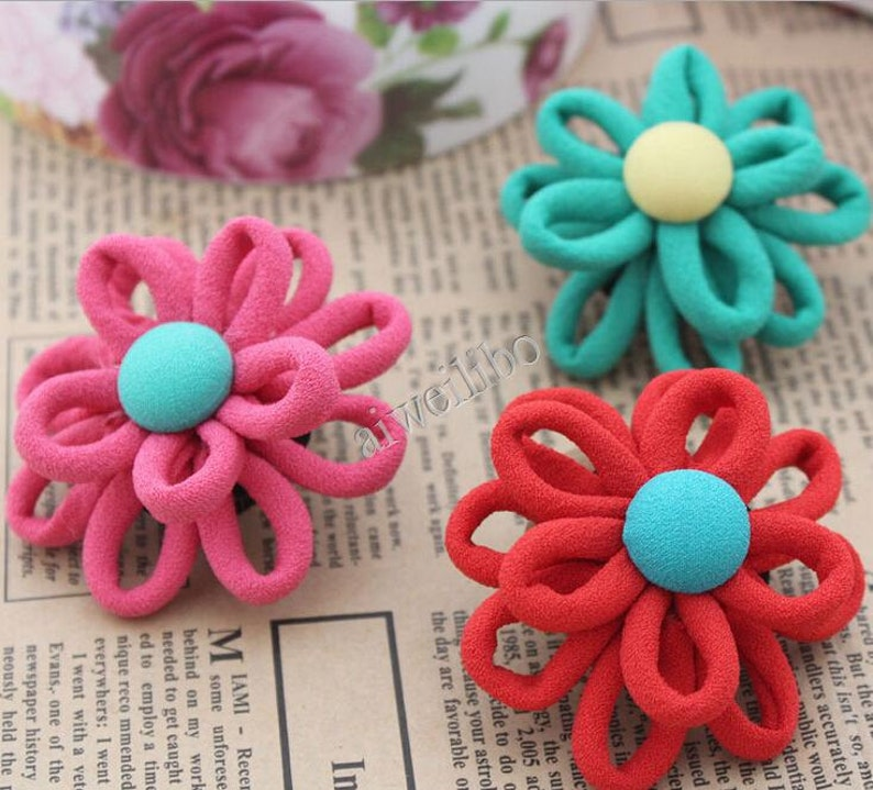 Back To Search Resultsjewelry & Accessories Jewelry Findings & Components 20 Pcs Satin Cloth Gauze Flowers Connectors Diy Handmade Headwear Accessories For Jewelry Making