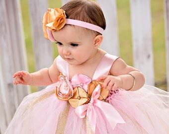 Gold Baby Dress Etsy