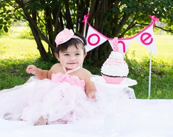 1b17ea286 Gorgeous Beautiful Light Pink Tutu Dress Baby Girl Tutu Dress for 1st  Birthday 6-18 months old First Birthday