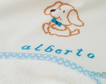 Baby hooded towel, baby towel, baby shower gift, hooded towel, embroidered towel, name towel, custom towel, custom baby, embroidered name
