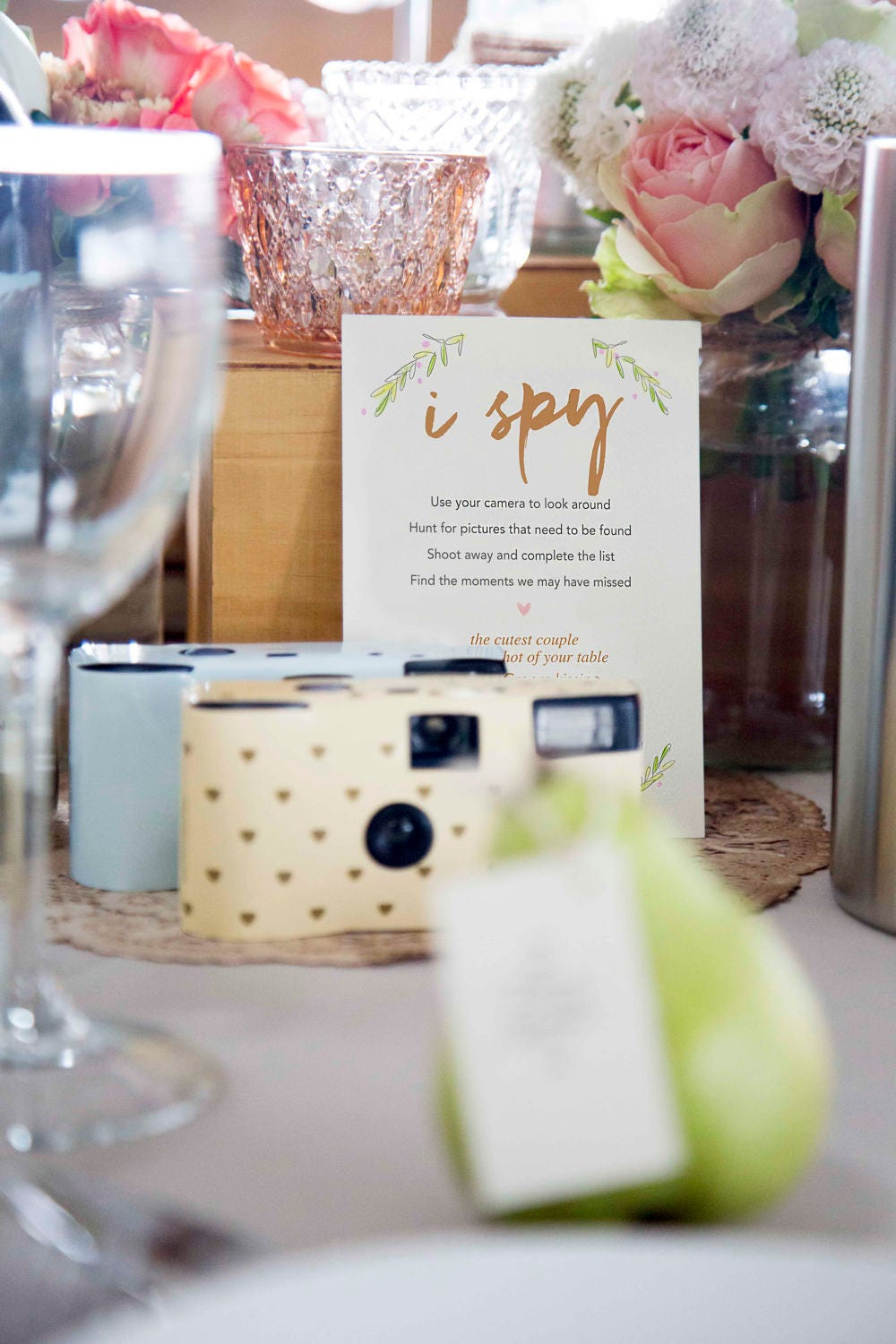 I SPY Wedding Game. Scavenger Hunt. Printable Game. Instant Download ...