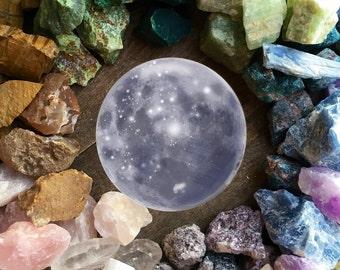 Moon Phase Crystal Set Lunar Crystals Moon Stones Raw Crystal Healing Crystals and Stones Spiritual Healing Bohemian Decor Meditation Stones