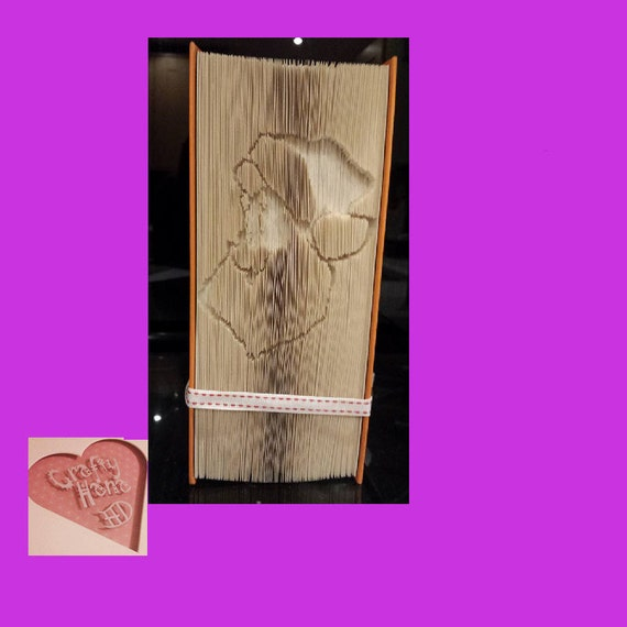 Book Folding Pattern Mark Measure Cut /& Fold Santa Christmas 502 pages