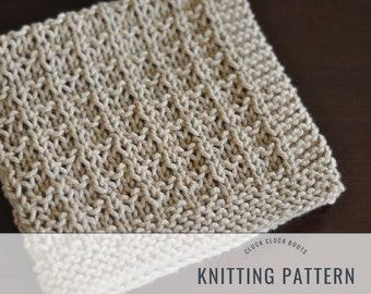 Finch Washcloth  Dishcloth Knitting PATTERN  Kitchen Decor  Home Decor