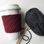 Alden Coffee Cup Sleeve / Cozy