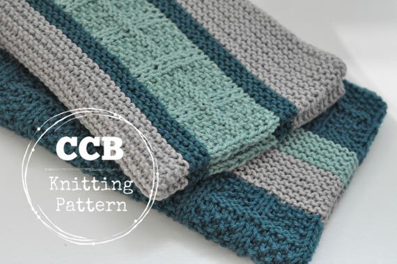 Kitchen Dish Towel Knitting Patterns Nook And Dinette Etsy