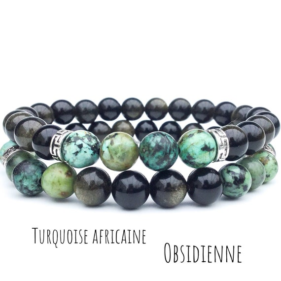 12 mm Naturel Green Jasper collier bracelet boucles d/'oreilles Set