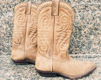 Women/'s Leather Santiags BootsSz 37CowGirlWestern BootsHandmade in ItalyAnckle SantiagsTendance 2019Streetwear