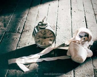 Time, Ballet Shoes Photo Print