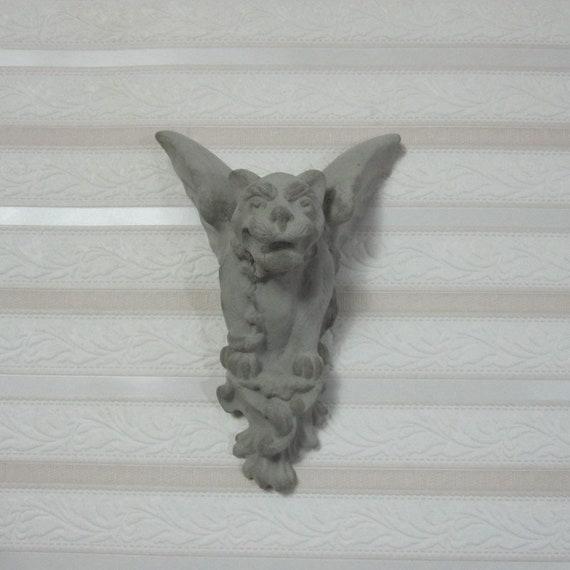 Concrete Gargoyle 24 Cast Stone Wall Art Home Decor