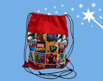 Marvel Drawstring Backpack 910f5eb30bd01