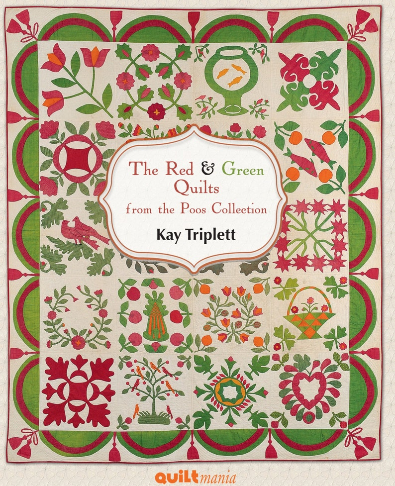 Red and Green Quilts from the Poos Collection image 0